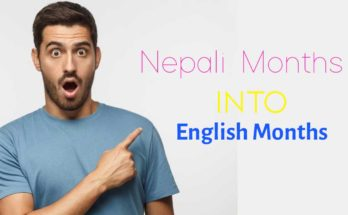 Nepali Months in English
