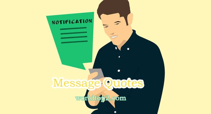 message quotes
