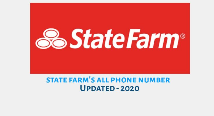 state farm phone number