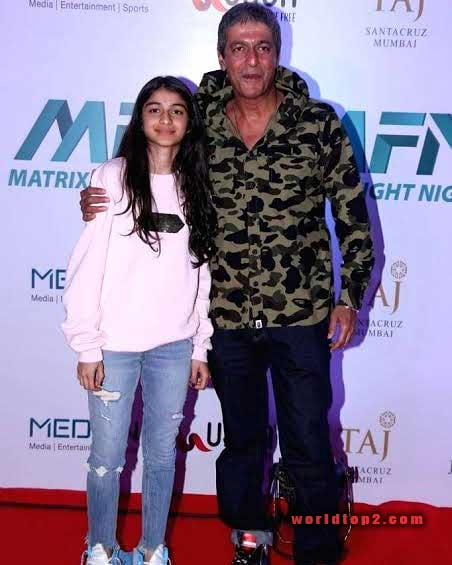 Rysa Pandey with her father