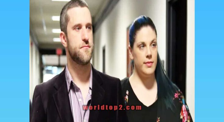 Amanda Schutz and Dustin Diamond