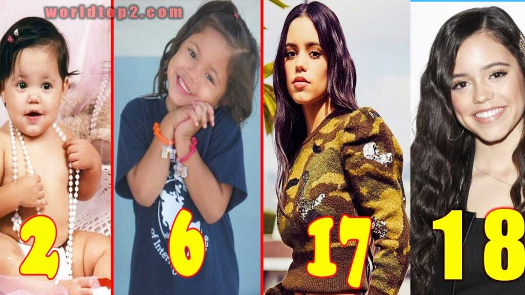 Jenna Ortega childhood days