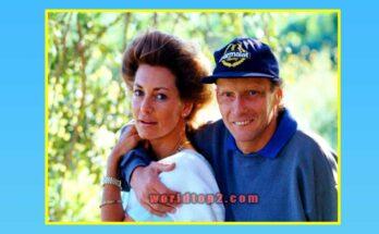 Marlene Knaus with here husband