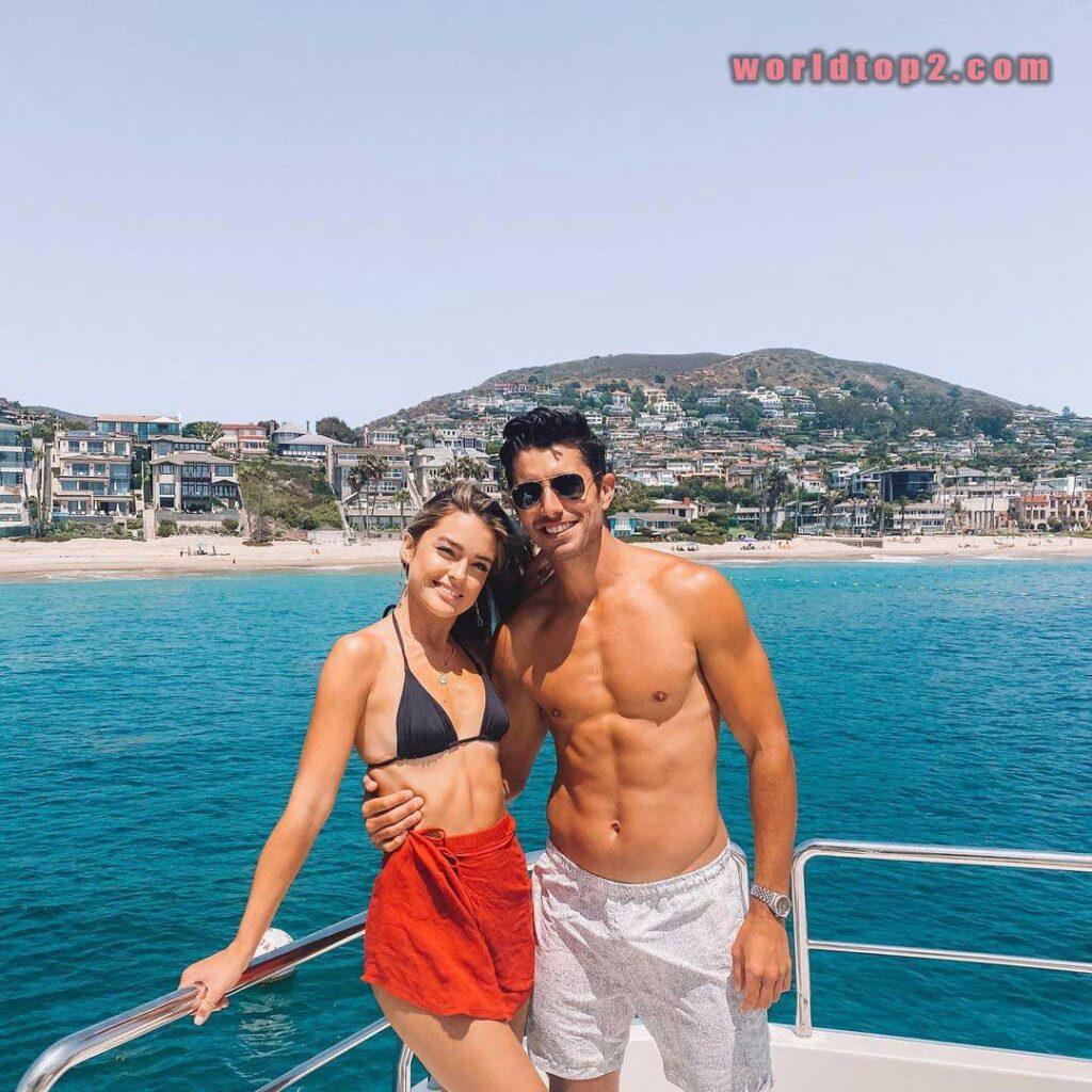 Vale Genta with her boyfriend Ben Edelstein