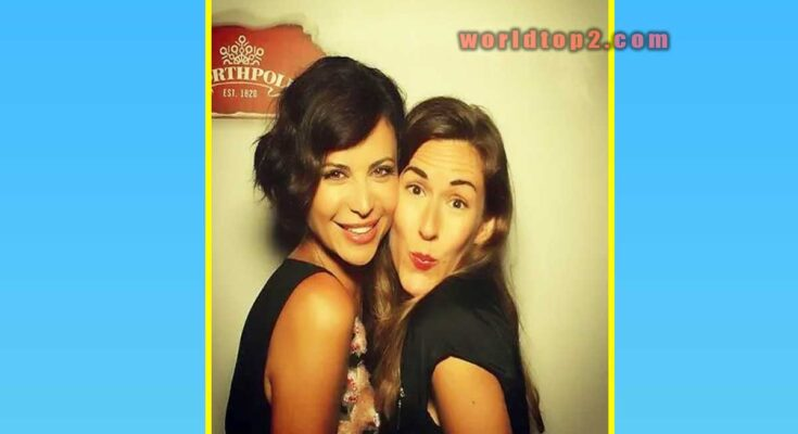 Brooke Daniells with Catherine Bell
